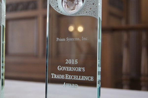 Prism Systems Receives the Governor's Trade Excellence Award in Montgomery